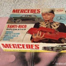 Juguetes antiguos Rico: MERCEDES 250 DE RICO SOLO LA CAJA. Lote 210238710