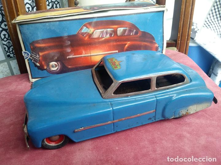 Juguetes antiguos Rico: Coche sedan policía rico a fricción I-238 con caja leer - Foto 2 - 210488646
