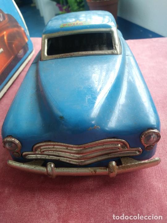 Juguetes antiguos Rico: Coche sedan policía rico a fricción I-238 con caja leer - Foto 4 - 210488646