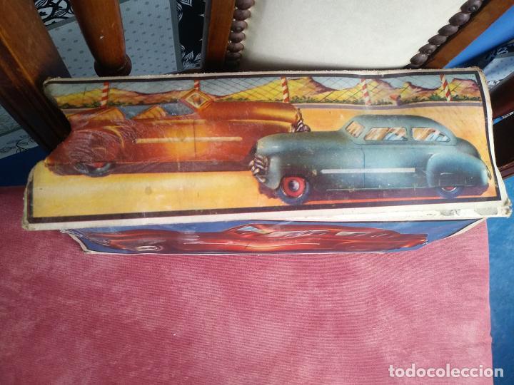 Juguetes antiguos Rico: Coche sedan policía rico a fricción I-238 con caja leer - Foto 11 - 210488646