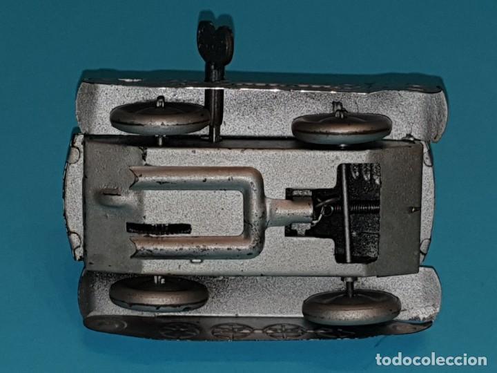 Juguetes antiguos Rico: Tanque voltereta de RICO, años 40. - Foto 5 - 211647363