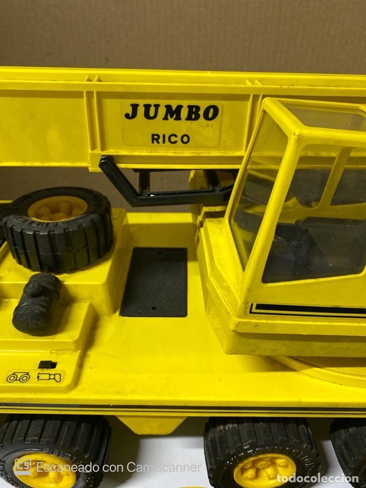 Juguetes antiguos Rico: ANTIGUA GRUA JUMBO. RICO. FUNCIONA. VER FOTOS. - Foto 4 - 212472458