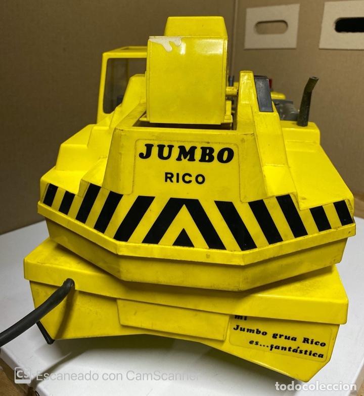 Juguetes antiguos Rico: ANTIGUA GRUA JUMBO. RICO. FUNCIONA. VER FOTOS. - Foto 15 - 212472458