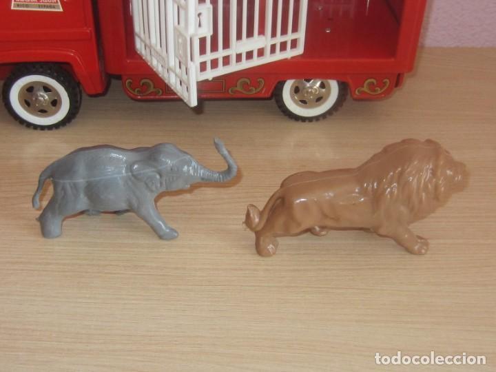 Juguetes antiguos Rico: SANSON JUNIOR LOS ANIMALES DEL CIRCO SALVAJE, NUEVO A ESTRENAR CON SU CAJA, REF 422 - Foto 18 - 212969562