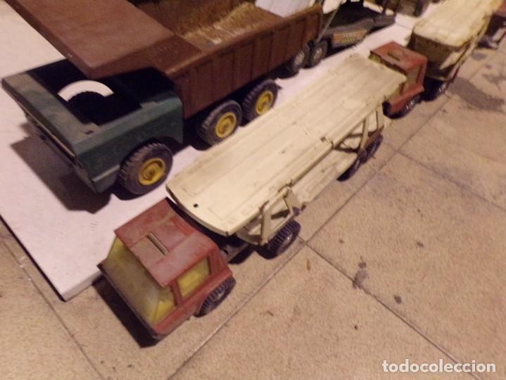 Juguetes antiguos Rico: lote numero 1 camiones metalicos rico gozan desguace - Foto 2 - 214198750