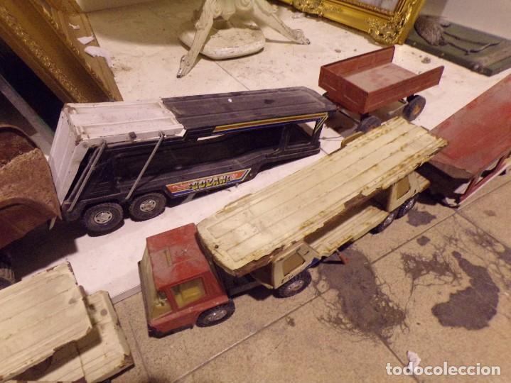 Juguetes antiguos Rico: lote numero 1 camiones metalicos rico gozan desguace - Foto 3 - 214198750