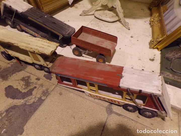 Juguetes antiguos Rico: lote numero 1 camiones metalicos rico gozan desguace - Foto 4 - 214198750