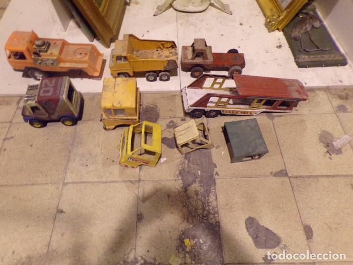 LOTE NUMERO 2 CAMIONES RICO GOZAN OTROS DESGUACE (Juguetes - Marcas Clásicas - Rico)