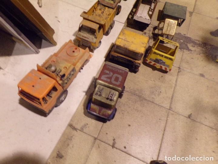Juguetes antiguos Rico: lote numero 2 camiones rico gozan otros desguace - Foto 2 - 214201025