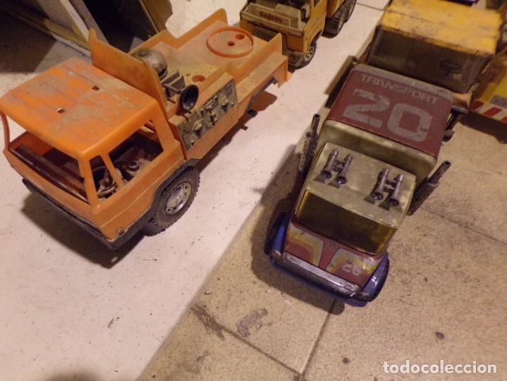 Juguetes antiguos Rico: lote numero 2 camiones rico gozan otros desguace - Foto 3 - 214201025