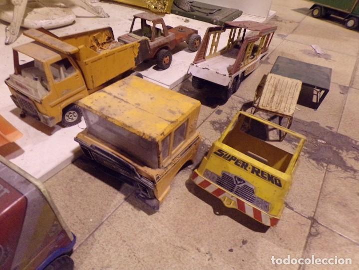 Juguetes antiguos Rico: lote numero 2 camiones rico gozan otros desguace - Foto 4 - 214201025