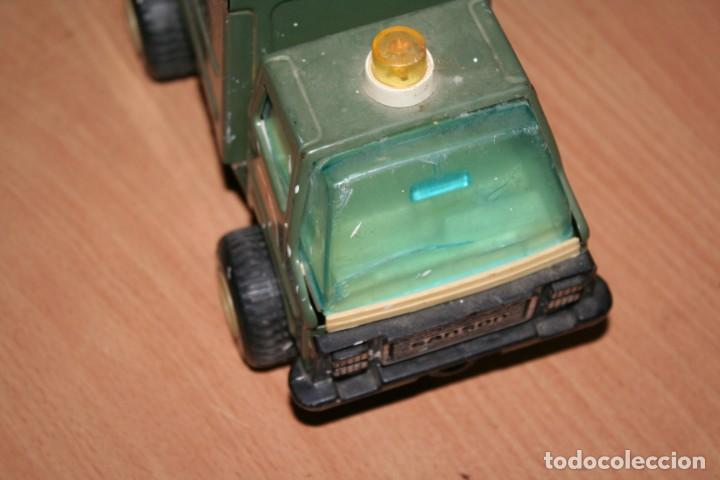 Juguetes antiguos Rico: coche rico ambulancia militar - Foto 2 - 216428546