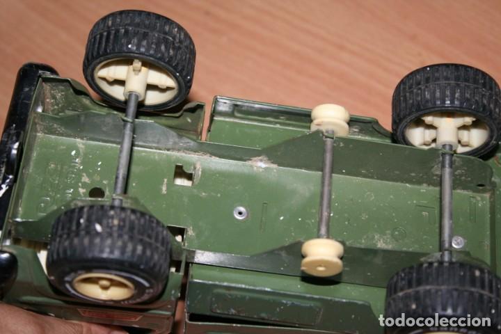 Juguetes antiguos Rico: coche rico ambulancia militar - Foto 4 - 216428546