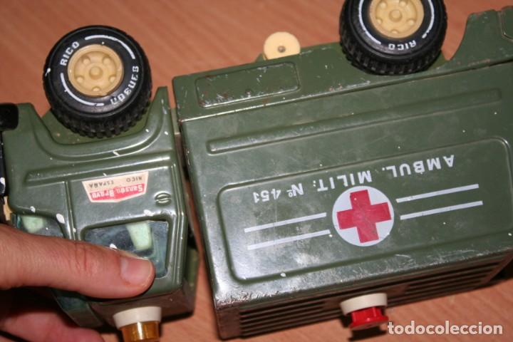 Juguetes antiguos Rico: coche rico ambulancia militar - Foto 5 - 216428546