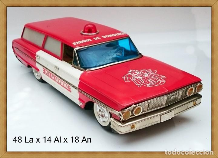 Rico Ref 904 Ford Galaxie Ranchera Parque Jefe Kaufen Alte Spielzeugmarke Rico In Todocoleccion 55907378