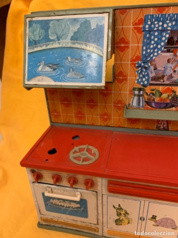 Juguetes antiguos Rico: Cocina de la marca rico - Foto 3 - 218555227