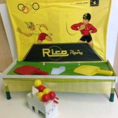 Giocattoli antichi Rico: ANTIGUO PING PONG - EN SU CAJA ORIGINAL *** RICO *** COMPLETO. Lote 219977370