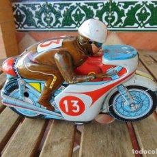 Jouets anciens Rico: MOTO MOTOCICLETA EN HOJALATA DE LA MARCA RICO MONTESA Nº 13 A FRICCIÓN. Lote 220892931