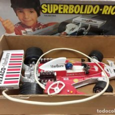 Juguetes antiguos Rico: RICO SUPERBOLIDO, FUNCIONANDO PERFECTO.. Lote 221610910