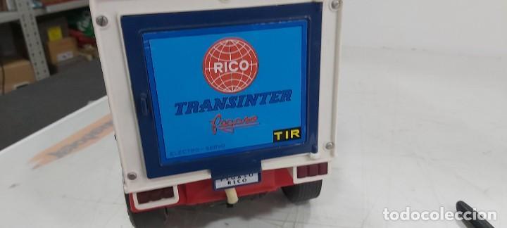 Juguetes antiguos Rico: ANTIGUO CAMION PEGASO DE RICO TRANSINTER DE RICO - Foto 16 - 235871235