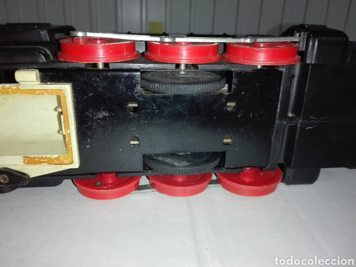 Juguetes antiguos Rico: LOCOMOTORA RICO - PLASTICO /CHAPA - Foto 19 - 227275480