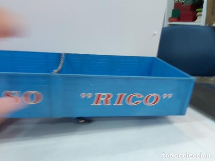 Juguetes antiguos Rico: ANTIGUO CAMION PEGASO DE RICO TRANSINTER ARTICULADO - Foto 13 - 228075923