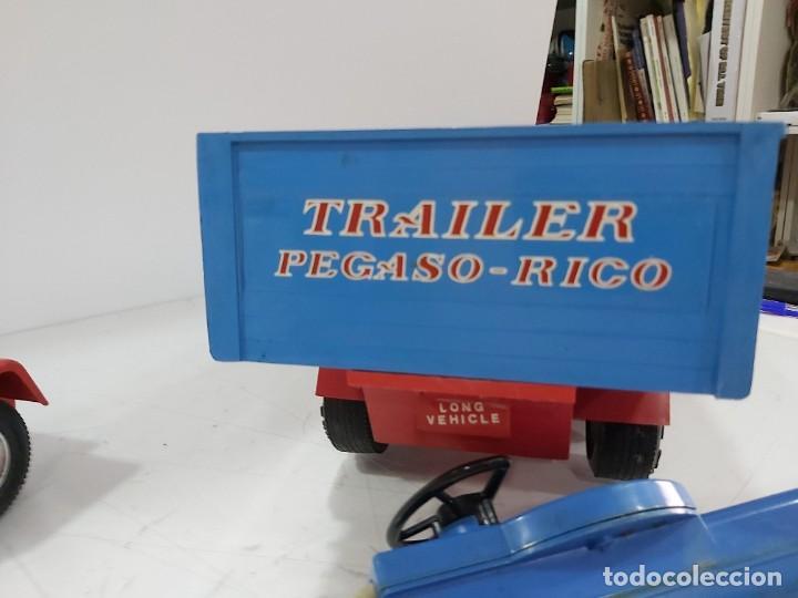 Juguetes antiguos Rico: ANTIGUO CAMION PEGASO DE RICO TRANSINTER ARTICULADO - Foto 16 - 228075923