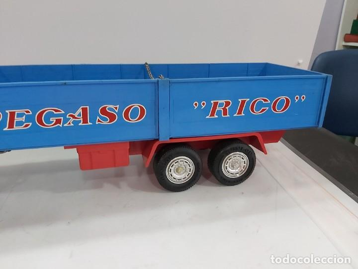 Juguetes antiguos Rico: ANTIGUO CAMION PEGASO DE RICO TRANSINTER ARTICULADO - Foto 24 - 228075923