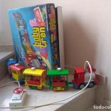 Juguetes antiguos Rico: ANTIGUO BABY TREN DE RICÓ. REF. 15 FUNCIONA. Lote 229538165