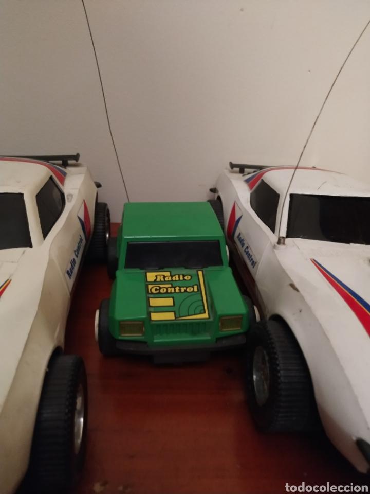 Juguetes antiguos Rico: Lote de 3 coches rico para reparar o piezas y dos mandos - Foto 8 - 229616155