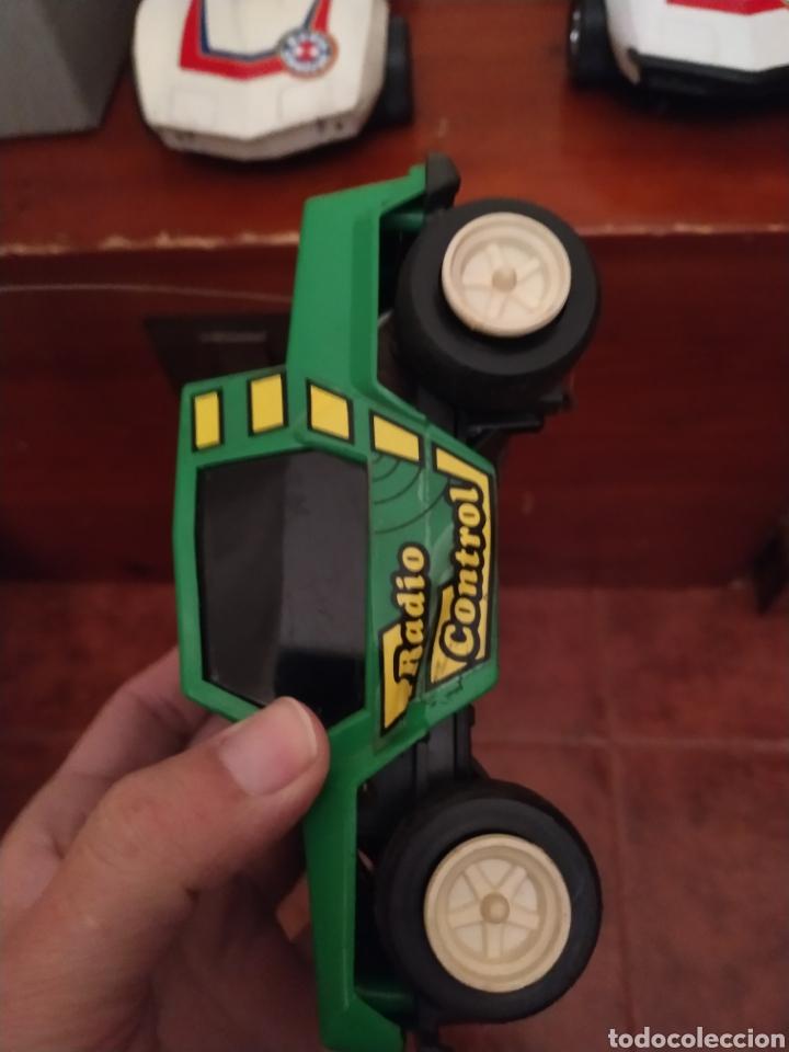 Juguetes antiguos Rico: Lote de 3 coches rico para reparar o piezas y dos mandos - Foto 9 - 229616155