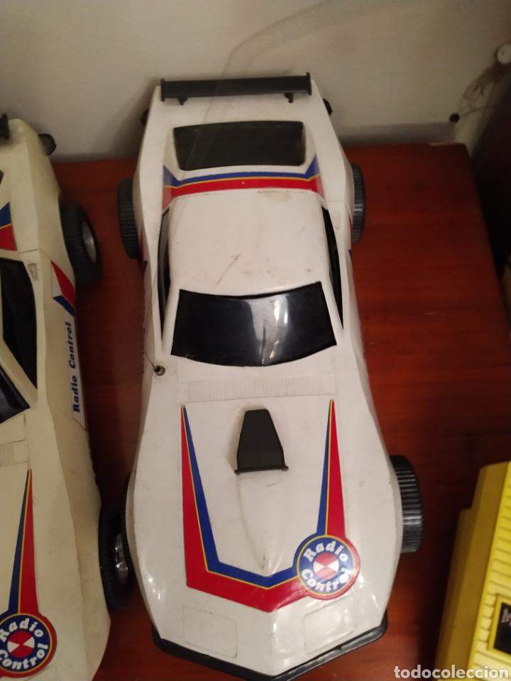 Juguetes antiguos Rico: Lote de 3 coches rico para reparar o piezas y dos mandos - Foto 23 - 229616155