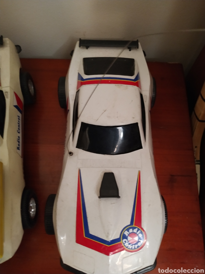 Juguetes antiguos Rico: Lote de 3 coches rico para reparar o piezas y dos mandos - Foto 33 - 229616155