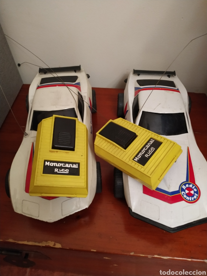 Juguetes antiguos Rico: Lote de 3 coches rico para reparar o piezas y dos mandos - Foto 35 - 229616155