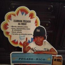 Giocattoli antichi Rico: CARTEL PEGASO RICO. Lote 229741385