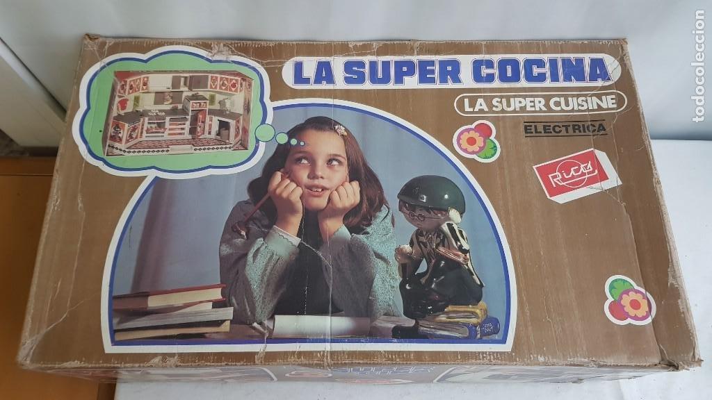 LA SUPER COCINA ELECTRICA BATIDORA TELEFONO Y LUZ FUNCIONANDO AÑOS 70 DE RICO (Juguetes - Marcas Clásicas - Rico)