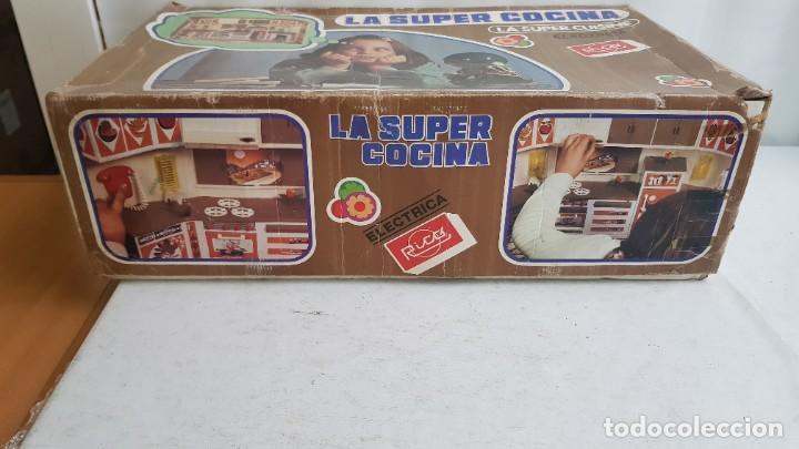 Juguetes antiguos Rico: La Super cocina electrica batidora telefono y luz funcionando años 70 de rico - Foto 2 - 232657660