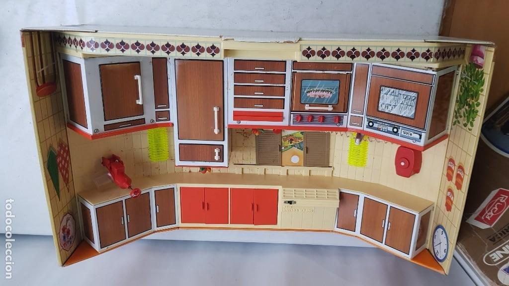 Juguetes antiguos Rico: La Super cocina electrica batidora telefono y luz funcionando años 70 de rico - Foto 8 - 232657660