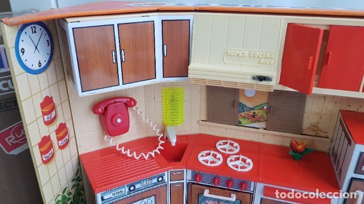 Juguetes antiguos Rico: La Super cocina electrica batidora telefono y luz funcionando años 70 de rico - Foto 9 - 232657660
