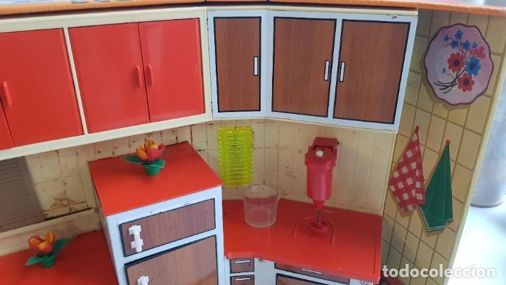 Juguetes antiguos Rico: La Super cocina electrica batidora telefono y luz funcionando años 70 de rico - Foto 11 - 232657660