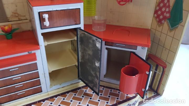 Juguetes antiguos Rico: La Super cocina electrica batidora telefono y luz funcionando años 70 de rico - Foto 12 - 232657660