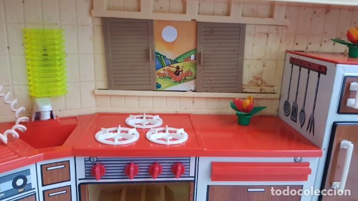 Juguetes antiguos Rico: La Super cocina electrica batidora telefono y luz funcionando años 70 de rico - Foto 13 - 232657660