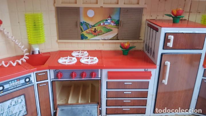 Juguetes antiguos Rico: La Super cocina electrica batidora telefono y luz funcionando años 70 de rico - Foto 14 - 232657660