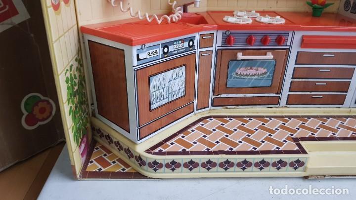 Juguetes antiguos Rico: La Super cocina electrica batidora telefono y luz funcionando años 70 de rico - Foto 16 - 232657660