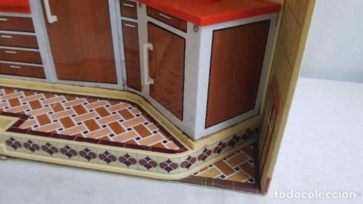 Juguetes antiguos Rico: La Super cocina electrica batidora telefono y luz funcionando años 70 de rico - Foto 17 - 232657660