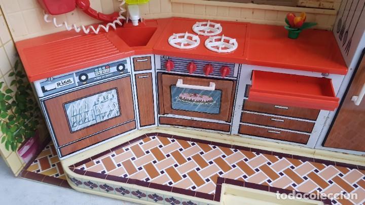 Juguetes antiguos Rico: La Super cocina electrica batidora telefono y luz funcionando años 70 de rico - Foto 19 - 232657660