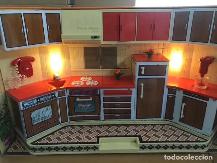 Juguetes antiguos Rico: La Super cocina electrica batidora telefono y luz funcionando años 70 de rico - Foto 20 - 232657660