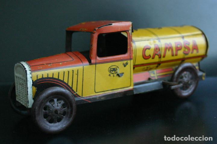 Juguetes antiguos Rico: RICO, camión cisterna 1930 - Foto 2 - 236937835