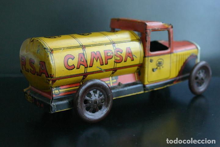 Juguetes antiguos Rico: RICO, camión cisterna 1930 - Foto 3 - 236937835