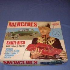 Juguetes antiguos Rico: MERCEDES DIRIGIDO SANTI RICO DIPLOMATICO. Lote 237577685